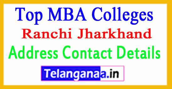 Top MBA Colleges in Ranchi Jharkhand