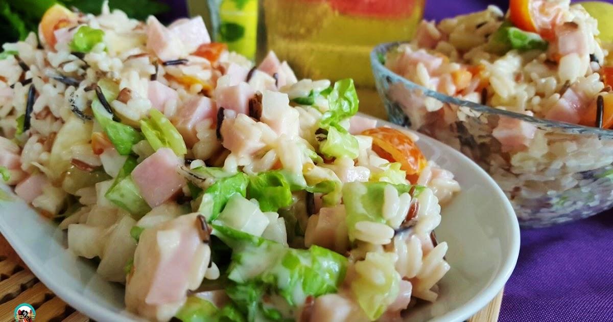 Ensalada de arroz con pi a - Ensalada de arroz light ...