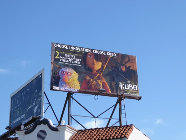 Kubo Choose Innovation Oscar billboard
