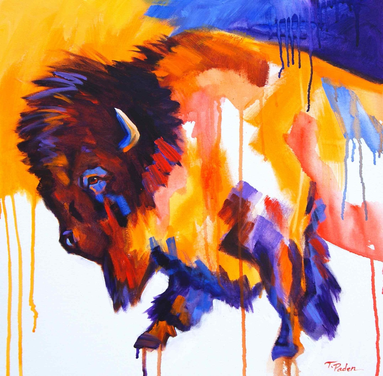 Paintings by Theresa Paden: Modern Western Art by Theresa Paden