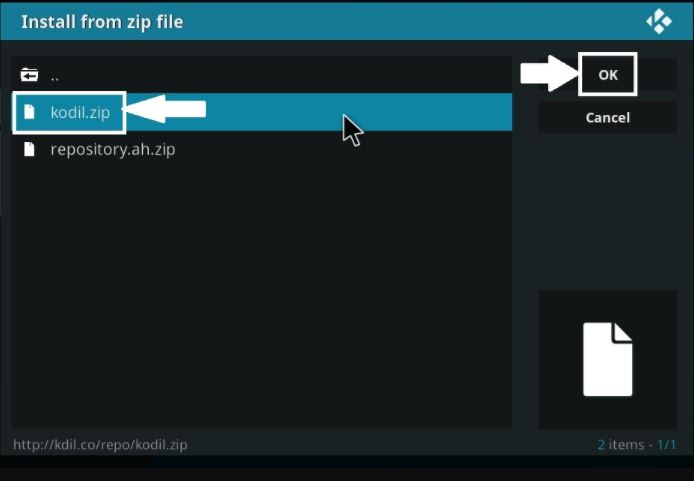 Install exodus on Kodi for firestick from zip file