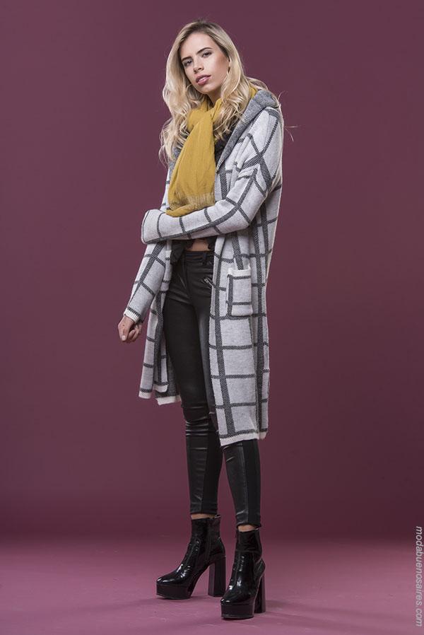 Sacos y abrigos de mujer última moda invierno 2018. | Tendencias de moda invierno 2018.