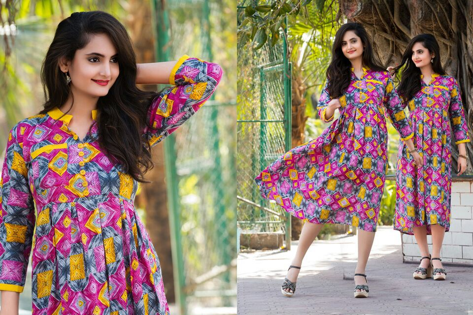 Khushbu – Latest New Collection Of Designer Kurti