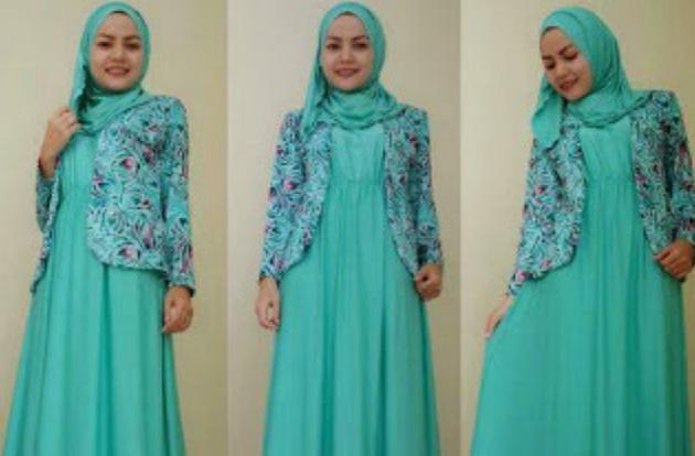 Model Gambar Baju Muslim Lebaran Murah 2017
