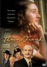 """Carátula del DVD: """"La historia de Ana Frank"""""""
