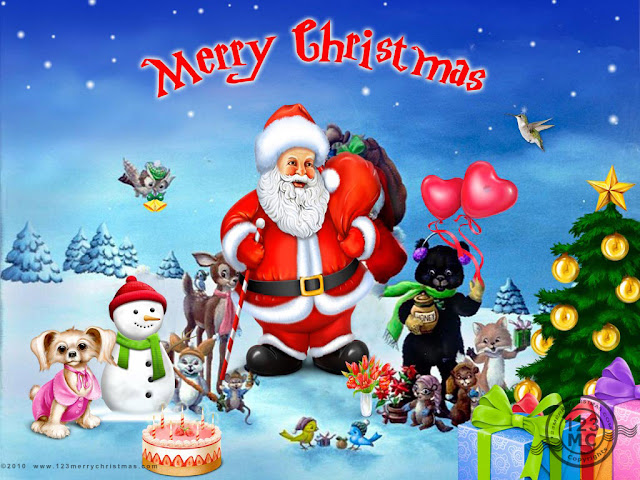 Merry Christmas  Santa Claus Picture 2015