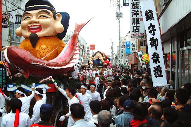 Harimichi Abare Dashi (Vivid float fetival), Nihonmatsu City, Fukushima Pref.