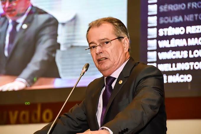 Deputado Levi Pontes lamenta falecimento do ex-deputado estadual Sebastião Pinheiro.