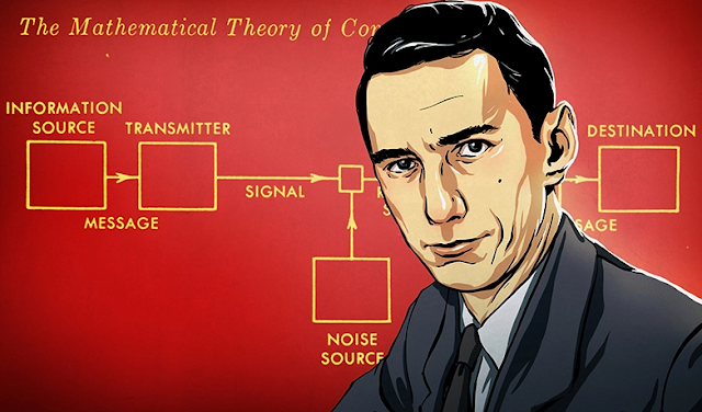 Claude Shannon Jadi Google Doodle Hari Ini, Siapakah Dia?