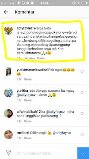 Instagram Adly Fayruz KBB