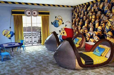 minion habitacion decorada