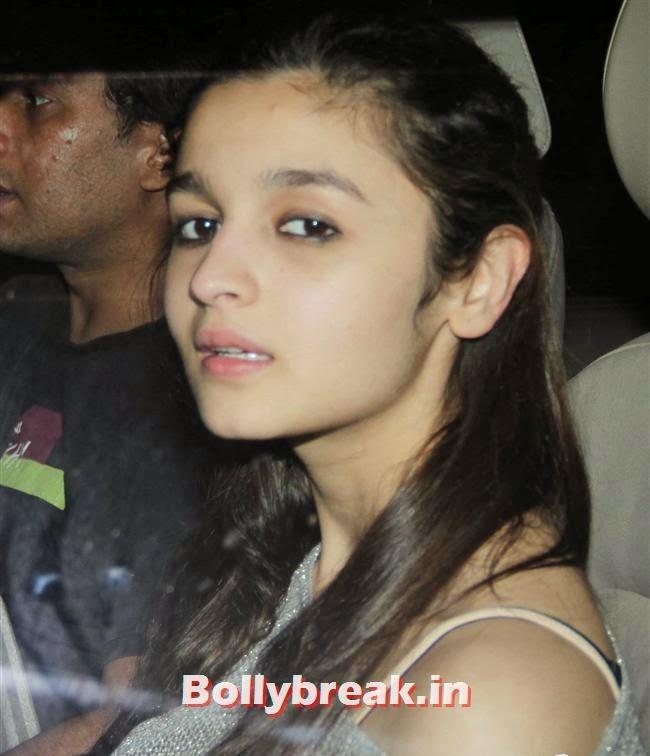 Alia Bhatt at, Alia Bhatt  at Special Screening of Movie Highway