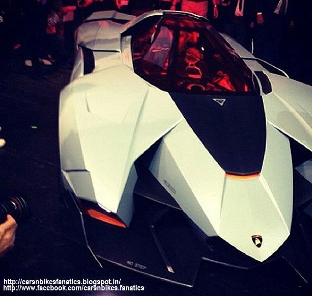 Newest Lamborghini Egoista: Car & Bike Fanatics: Lamborghini Egoista Concept