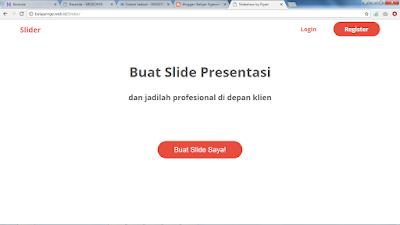 Bikin Slide Presentasi makin Mudah dengan Blider