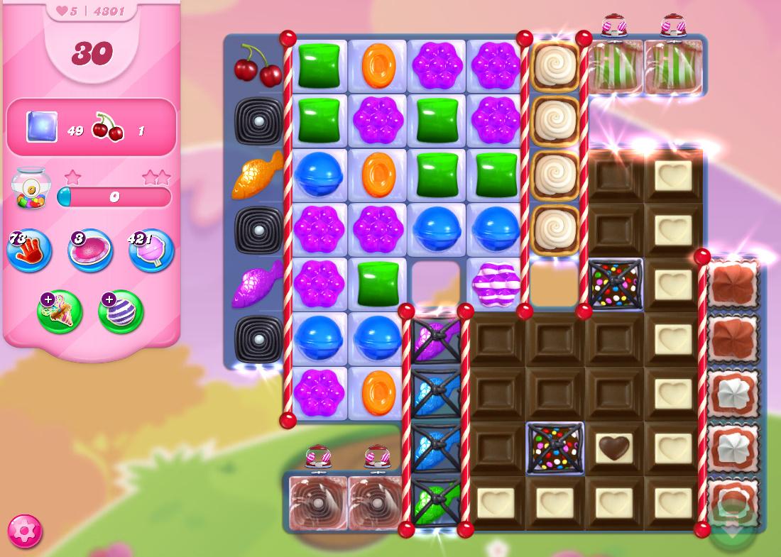 Candy Crush Saga level 4301