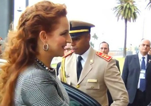 Princess Lalla Salma of Morocco, Lalla Salma Foundation and WHO Ambassador. Style of Lalla Salma
