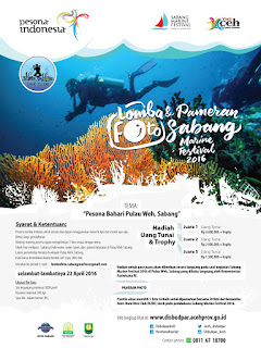 Even Wisata di Aceh 2016 Sabang Marine Festival 2016