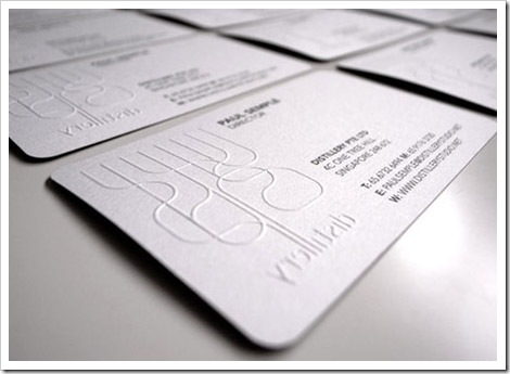 chỗ làm card visit