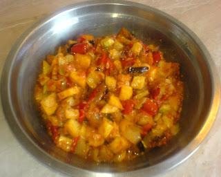 saksuka reteta turceasca si tatareasca, retete culinare, retete de mancare, retete traditionale turcesti si tataresti, salata de vinete turceasca si tatareasca, saksuka turceasca,