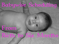 Birth-Six Month Babywise Schedule