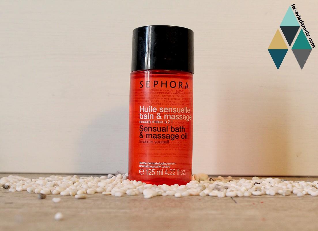 huile adoucissante et hydratante pour le bain ou en huile de massage