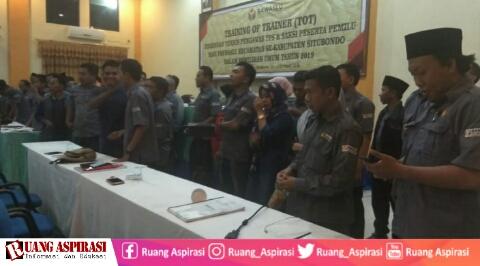 Kuatkan Kapasitas, BAWASLU Gelar TOT Bagi Panwaslu Kecamatan Se-Kabupaten Situbondo