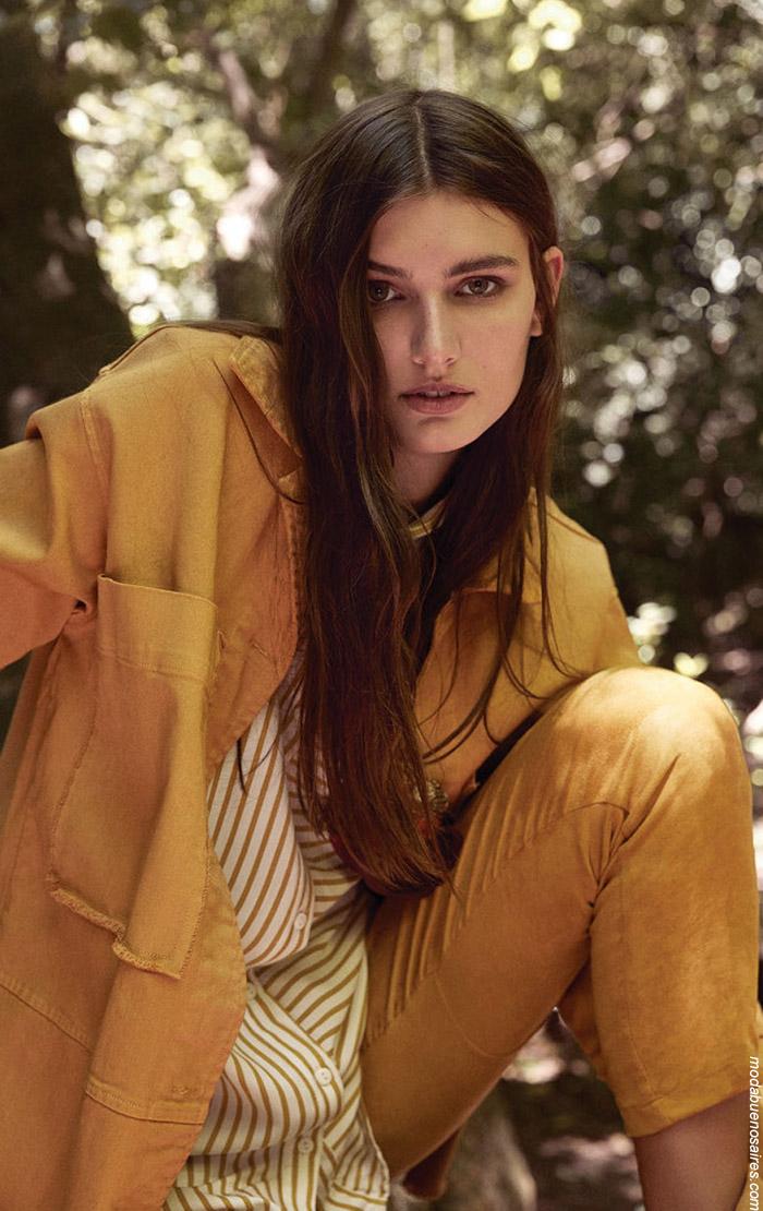 Abrigos invierno 2019 ropa de moda mujer.