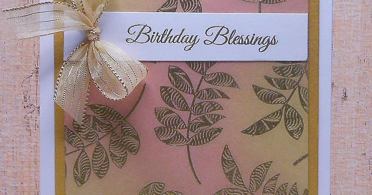 Birthday Blessings Paper Panache