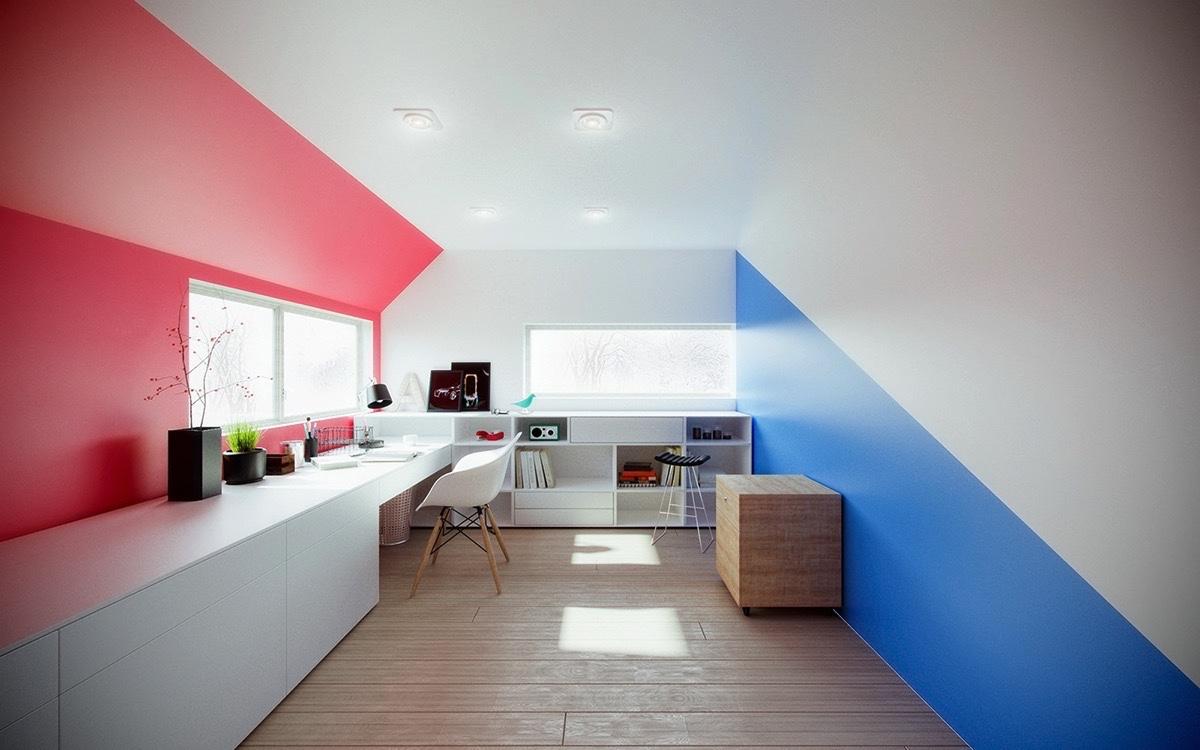 25 Desain Kantor Unik Minimalis