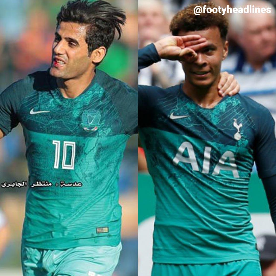 Iraqi Top Club Steals Nike Tottenham 18 19 Third Kit Design Footy Headlines
