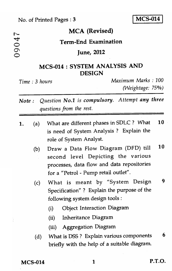 What is system analysis and design essay