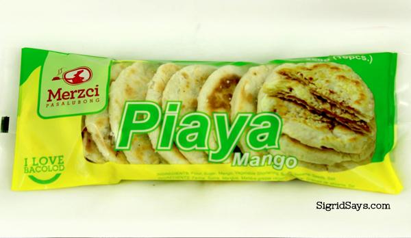 Merzci Pasalubong - Bacolod pasalubong - mango piaya