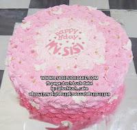 Kue Tart Ulang Tahun Buttercream Ombre Cake
