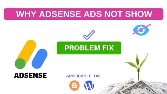 Why adsense ads are not showing