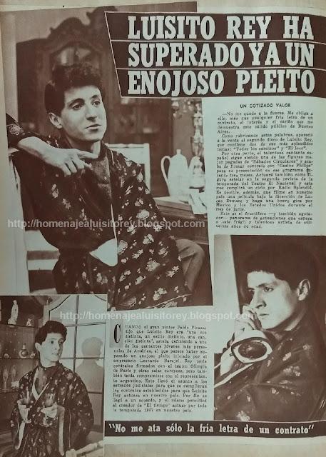 Entrevista a Luisito Rey (1967)