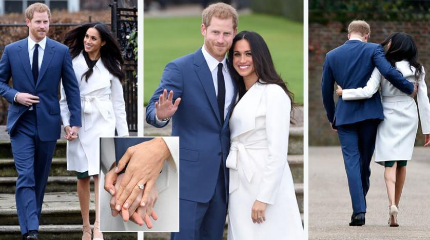 ننشر صور زفاف الأمير هاري والممثلة الأمريكية ميغان ماركل - تابع الإطلالة الأولى للعروس ميغان ماركل في الزفاف الملكي