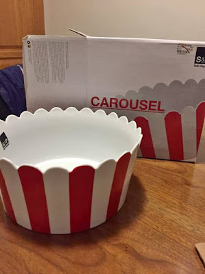 Carousel Popcorn Bowl by Salt and Pepper