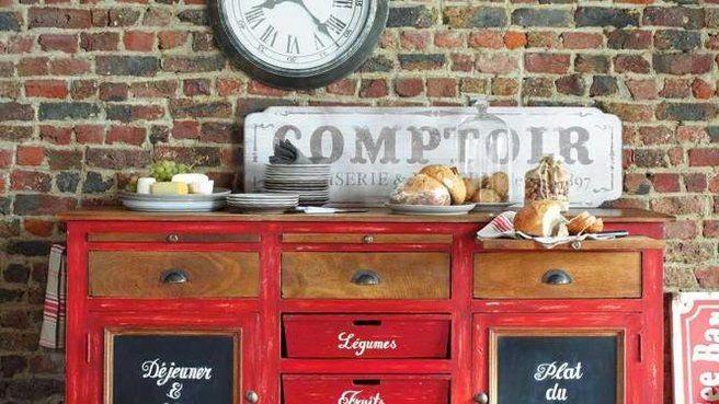 cuisine ambiance bistrot. Black Bedroom Furniture Sets. Home Design Ideas