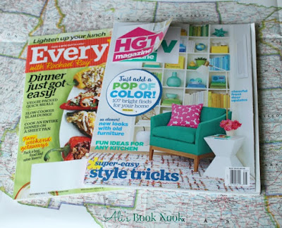 what reading material to pack on your road trip magazines HGTV Everyday with Rachel Ray