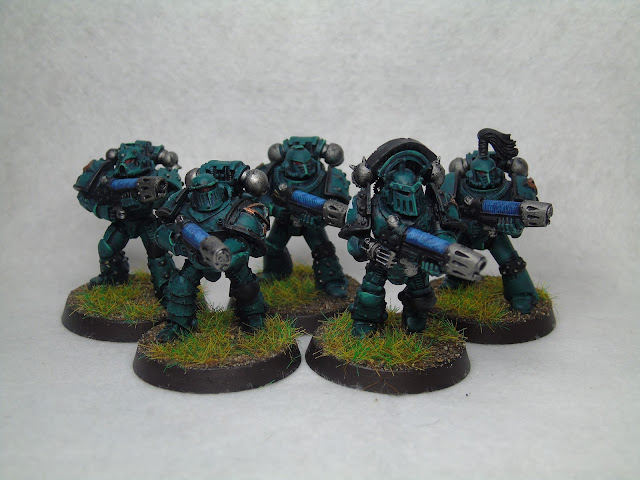 sons of horus 30k plasma support squad bionic hand
