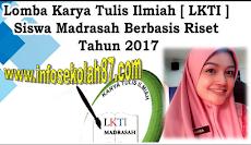 Pengumuman Daftar Nama Yang Lolos Seleksi Proposal LKTI Madrasah Tingkat Nasional 2017