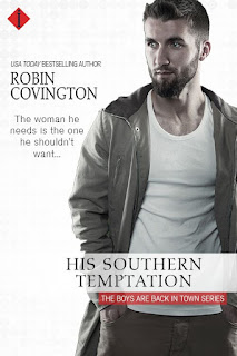 His Southern Temptation by Contemporary Romance Author Robin Covington
