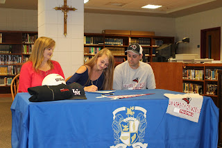 Catholic's Sarah Murry Commits to Play Volleyball at the University of Mobile 1