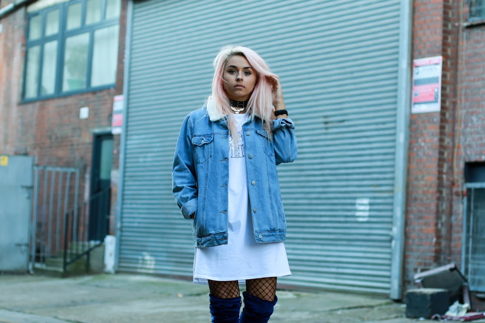 Fashion blogger Charlotte Hole
