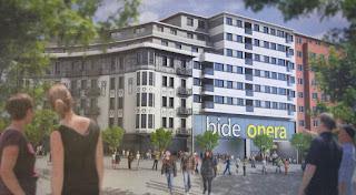 Infografía del proyecto de viviendas en Bide Onera
