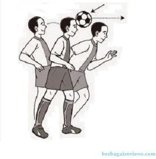 Menyundul bola dengan sikap berdiri - berbagaireviews.com