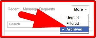 how to recover deleted facebook messages on pc