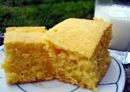 Soft Croatian corn bread - proja