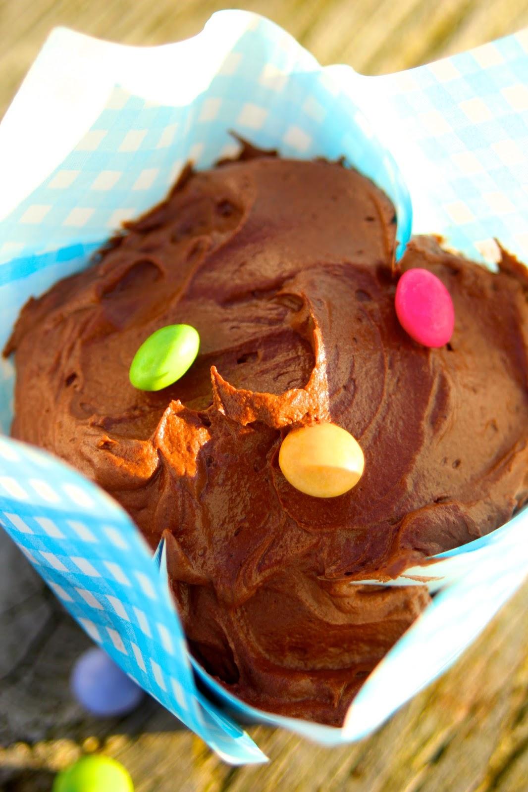 Cupcakes-mit-viel-Schokolade