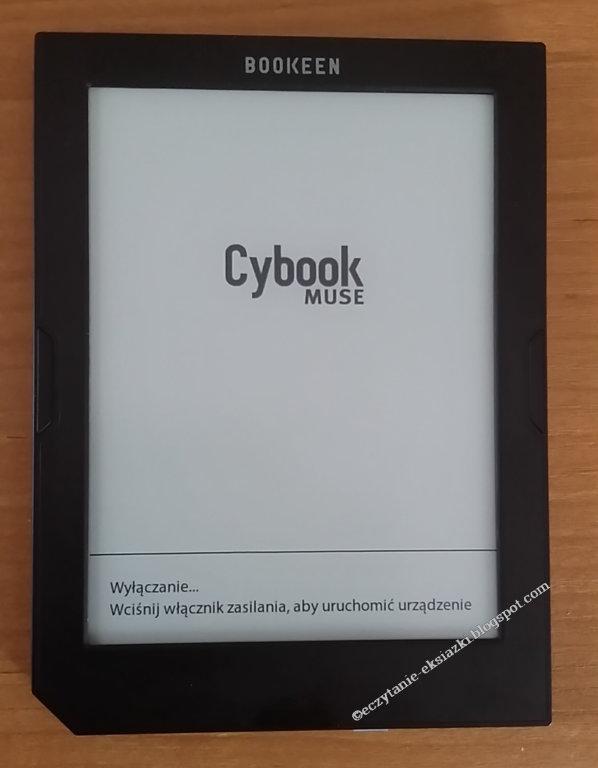 czytnik Cybook Muse Light - widok na ekran i front obudowy